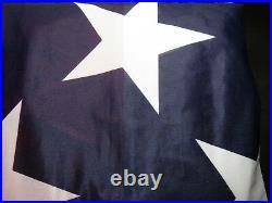 10x15 Embroidered Sewn U. S. USA American 50 Star Premium Nylon Flag 10'x15' 240D