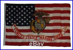 12x18 12x18 USA EGA Marines American USMC Marine Corps Sleeve Garden Flag