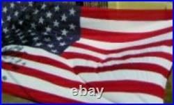 15x25 Embroidered Sewn USA American 600D Nylon Flag 15'x25