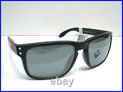 $206 NWT Oakley Holbrook American Heritage USA Flag Black Prizm Polar Sunglasses
