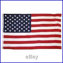 30 FT Residential Flag Pole Flagpole Kit & 3x5 US American Flag MADE IN USA MAGA