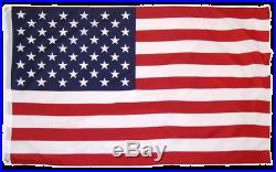 30' super THICK US AMERICAN FLAG POLE KIT ALUMINUM USA 3X5' FLAG POLYESTER #1USA
