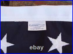 6X10 EMBROIDERED US AMERICAN FLAG WindStrong POLY