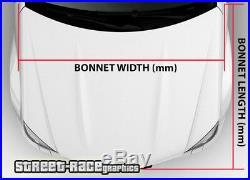 701 Car bonnet hood wrap printed graphic AIR RELEASE vinyl American USA flag