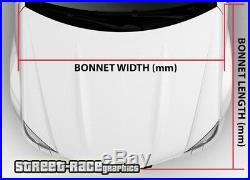 710 Car bonnet hood wrap printed graphic AIR RELEASE vinyl USA American flag