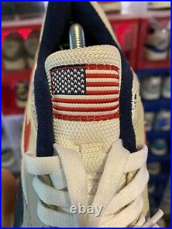 Air Max 1 Patriot USA Mens 9.5 American Flag Betsy Ross