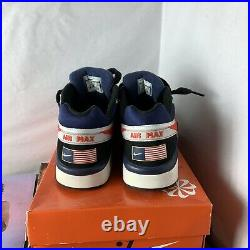 Air Max BW Premium USA Olympic American Flag Shoes 819523-064 Men Size 11.5