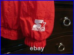 American Flag Jacket U. S. A. Olympic Team 1996 Starter Large Official Licensed Og
