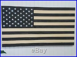 American Flag Theme Wooden Wall Mount Art Decor USA Patriotic Decoration Mural