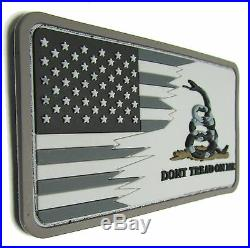 American USA Us Flag Don't Tread On Me Snake Pvc Acu Velcro Brand Patch