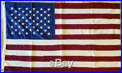 American Vintage USA All Sewn Cotton Flag 3x5 Feet 25+ Years Old New In Package