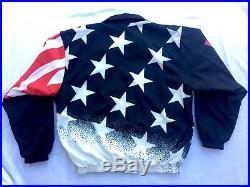 CHAMPION 1996 USA OLYMPICS BASKETBALL Dream Team WINDBREAKER JACKET XL Vintage