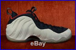 CLEAN Nike Air Foamposite One PRM USA Obsidian Olympic 575420-400 Size 11