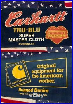 Carheart Denim Commercial Banners Limited Jeans American Flag USA Levi's Lee F/S