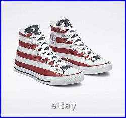 Converse AMERICANA Mens Shoes (NEW) Stars Bars USA American Flag Stripes CHUCKS