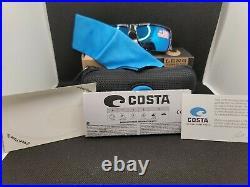 Costa del Mar Rinconcito Freedom Serises 580G Blue Mirror Glass Lenses