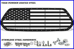 Custom Steel Aftermarket Grille AMERICAN FLAG Fits 2016-2017 Toyota Tacoma USA