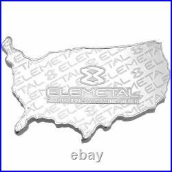 Elemetal Stars and Stripes American Flag Bar USA 5oz Silver