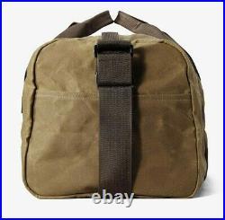 Filson Small Tin Cloth Field Duffle Bag NEW 11070110 Twill Dark Tan Duffel