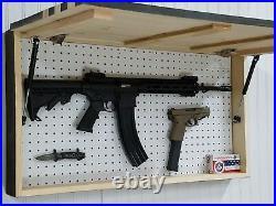 Gadsden American Flag Concealment Furniture Cabinet Secret Hidden Gun Storage