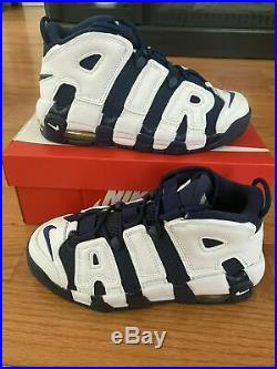 Grade School Nike Air More Uptempo Scottie Pippen USA Olympic GS 2020 Size 6Y