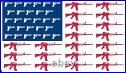 Guns and Rifles Flag 3x5 American Patriotic AR-15 Banner USA Flag Trump NRA