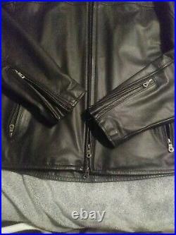 Harley Davidson American Legend Leather Jacket Mens XL New