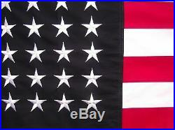 Heavy Cotton 48 Star American Flag 3 X 5 Old Glory Sewn And Embroidered USA