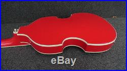 Hofner HCT 500/1-USA Contemporary BEATLE BASS GUITAR AMERICAN FLAG MODEL New