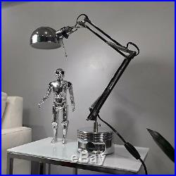 Jacobs Radial Engine Avro Anson WWII AMERICAN FLAG USA Aviator Piston Desk Lamp