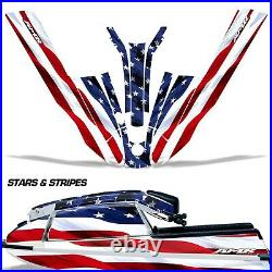Jet Ski Graphic Decal Wrap for Kawasaki 440 550 SX 1982-1995 Stars & Stripes USA