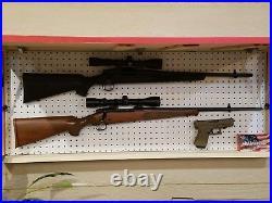 Large 42 American Flag Rustic Concealment Cabinet Furniture Secret Gun Storage