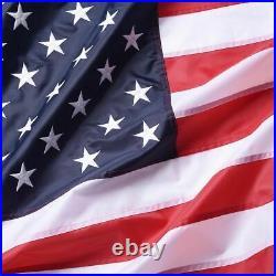 Large American Flag 10'x15' 10 X 15 USA Nylon Huge F549 U. S. A. Flags Us Factory