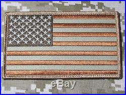 Large USA American Flag Us Army Badge Desert Velcro Brand Fastener Patch
