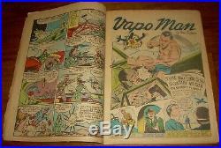 MAN of WAR Comics #1 rare Centaur WWII-era American Flag cover USA Vapo Man nr