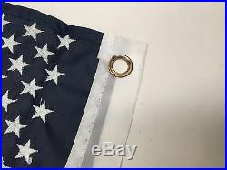 Marine Boat American Flag USA 18.5X10.6 Hole Center-to-Center 9.5