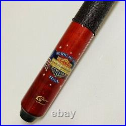 McDermott Harley Davidson American Flag Pool Cue Stick Retired Made In The USA