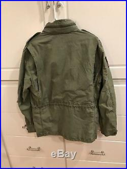 Mens Ralph Lauren Polo USA American Military Field Jacket Olive Green XL