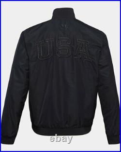 Mens Under Armour Project Rock Freedom Full Zip Jacket size 2XL XXL #1357198
