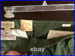 NEW RALPH LAUREN DENIM SUPPLY Men's American Flag Cargo Shorts (Size 40)