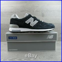New Balance J Crew X 1400 Collab M1400NV Navy Silver Made In USA Mens Multi Size