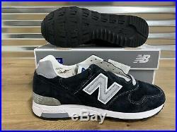 New Balance x J Crew 1400 Classic Running Shoes USA Navy Suede SZ (M1400NV)