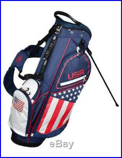 New Hot-Z Golf 2020 USA American Flag Golf Stand Bag New Improved Style