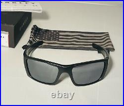 New Oakley Fuel Cell Sunglasses Matte Black Grey Tonal USA Flag Icon SI Limited