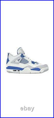 Nike Air Jordan 4 Retro Military Blue Size 10 2012 VN Deadstock Rare Limited Off