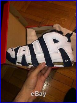 Nike Air More Uptempo Olympic Pippen USA 2016 Men's Size 11.5 414962-104 New