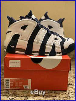 Nike Air More Uptempo Scottie Pippen USA Olympic 2020 414962-104 Size 8.5