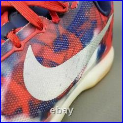 Nike Kobe X 10 USA 4th of July Basketball Shoes Mens Size 14 Red White Blue Gum