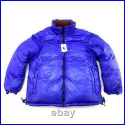 Nike Lab Collection Men's Reversible Pueblo Brown Black Down Puffer Jacket Sz L