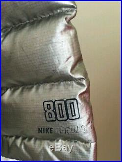 Nike Mens L Aeroloft Summit 800 Down Olympic Podium Jacket 614215 070 USA Sochi